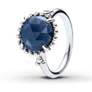 PANDORA Midnight Star Sterling Silver Ring Size 7